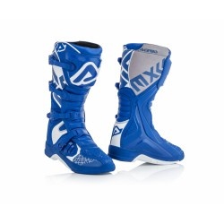 STIVALE ACERBIS X-TEAM BLUE-WHITE