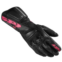GUANTI SPIDI STR-5 LADY NERO-FUCSIA