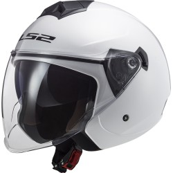 CASCO LS2 OF573 TWISTER II SOLID WHITE