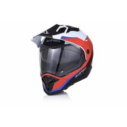 CASCO ACERBIS REACTIVE RED-WHITE