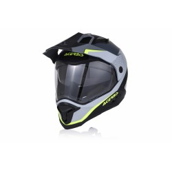CASCO ACERBIS REACTIVE BLACK-GREY MATT