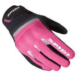 GUANTI SPIDI FLASH CE LADY NERO-FUCSIA