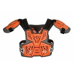PETTORINA ACERBIS GRAVITY ORANGE