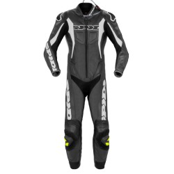 TUTA SPIDI SPORT WARRIOR PERFORATED PRO NERO-BIANCO