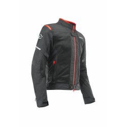 GIACCA ACERBIS CE RAMSEY VENTED BLACK RED