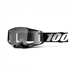 MASCHERA DA CROSS 100% ARMEGA BLACK