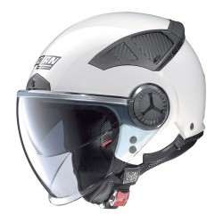 CASCO NOLAN N33 EVO METAL WHITE