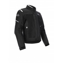 GIACCA ACERBIS CE ON ROAD RUBY NERO-BIANCO