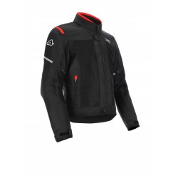 GIACCA ACERBIS CE ON ROAD RUBY NERO-ROSSO
