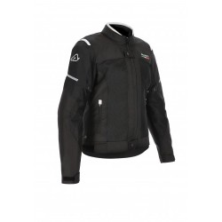 GIACCA ACERBIS CE ON ROAD RUBY LADY NERO-BIANCO