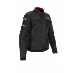 GIACCA ACERBIS CE ON ROAD RUBY LADY NERO-ROSSO